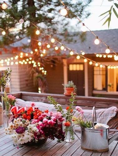 guía luces exterior o interior 7m decora tu fiesta!!