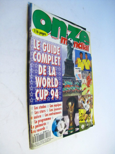 guia mundial usa 1994. one zone portugues