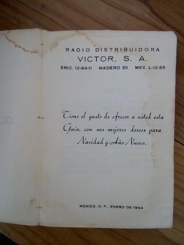 guia musical  felix herce 1944