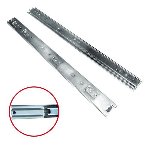 guia o riel silencioso automatico par 45cm x 25mm kache tool