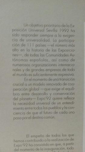 guía oficial expo sevilla 1992