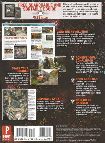 guía oficial far cry 4 nueva