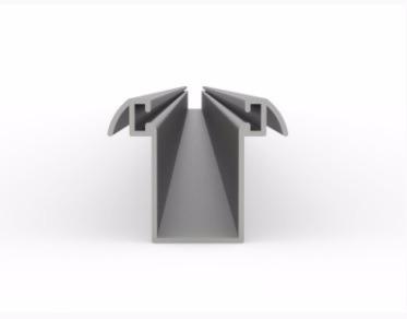 guía para cortinas de aluminio
