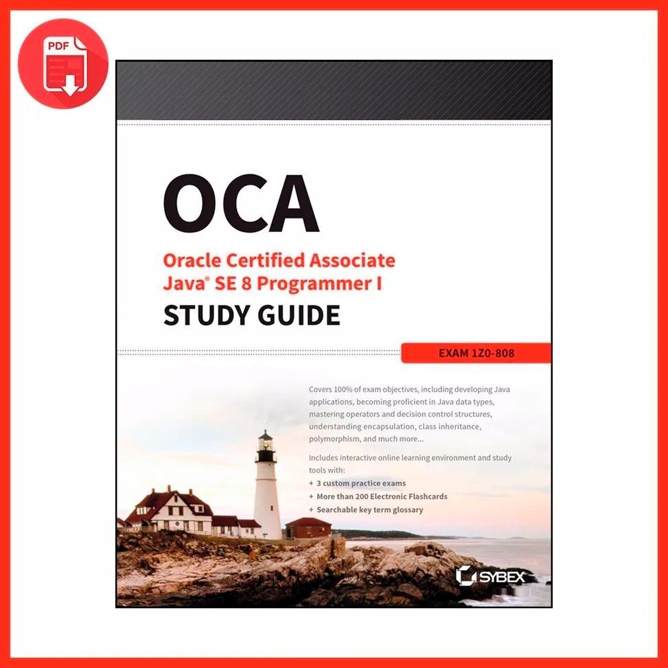 Guía Pdf Oca Oracle Certified Associate Java Se 8 - 2014