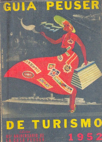guia peuser de turismo 1952