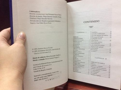 guía práctica del derecho. consultorio jurídico,german  nava
