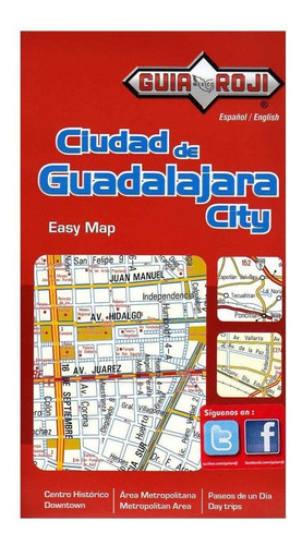 guia roji easy map de guadalajara