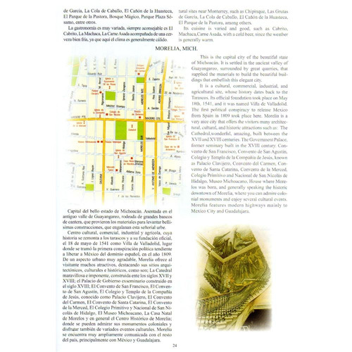 guia roji mini atlas turistico de mexico 2012