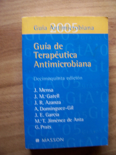 guía terapéutica antimicrobiana-au-josep mensa-ed-masson-op4