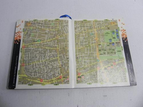 guia y mapa transantiago chile 2007