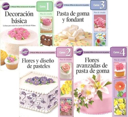 guías de repostería. decoración de pasteles. método wilton