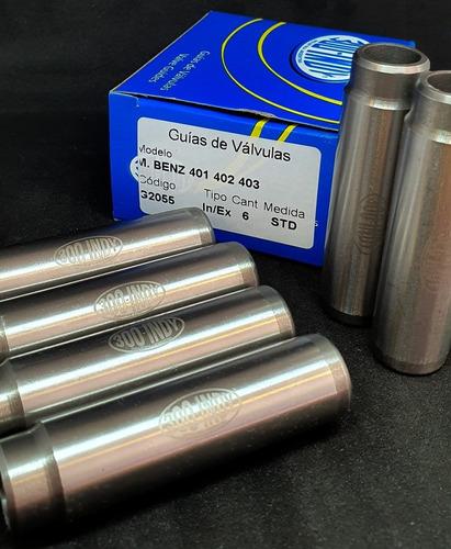 guías de válvula m.b om401/2/3/4/7- 421/2/3/7 421a/22a a-e