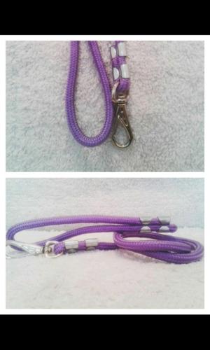 guias em lona colorida corda simples
