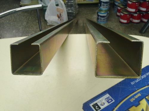 guias grande de chapa de 2 mm para portones basculantes zinc
