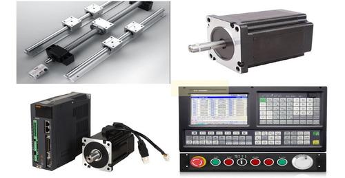 guias lineales, servos y controles cnc soporte técnico