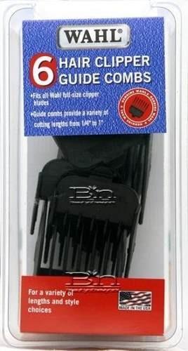 guias maquina peluqueria profesional wahl set 6 unidades