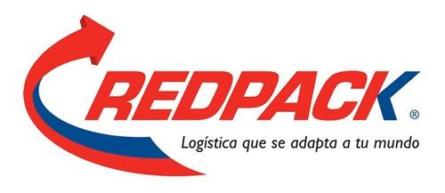 guias prepagadas redpack 40kg nacional con recoleccion