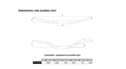 guidao oxxy super bar fat alto honda nc nx 700 750 transalp