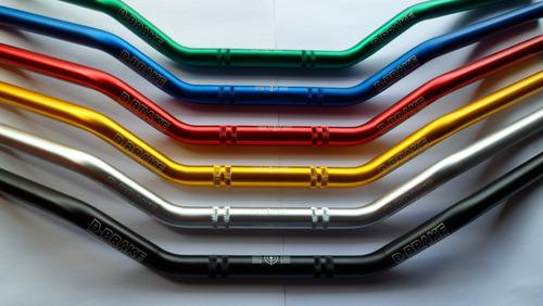 guidão aluminio anodizado off road 7/8