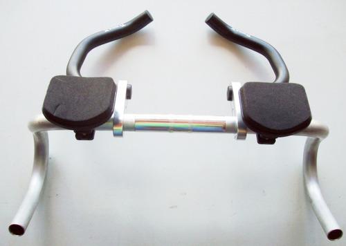 guidão alumínio triathon bicicleta speed caloi 10 tranz x