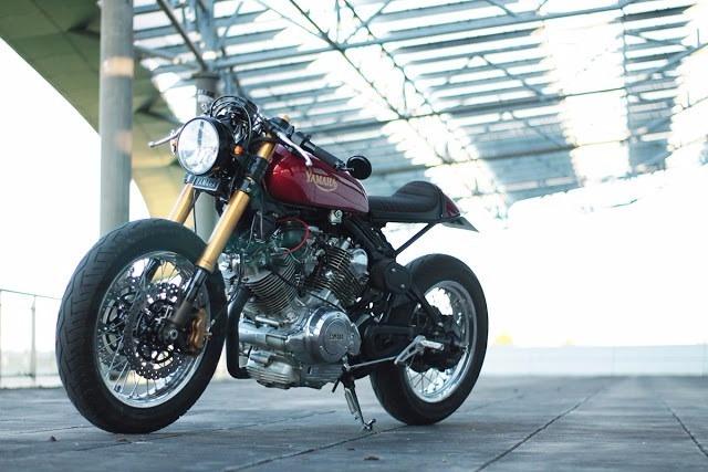 Guidao Customizado Virago 250 Cafe Racer