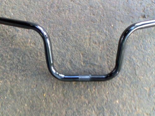 guidão em aço modelo cg-150 cromado (para bikes)