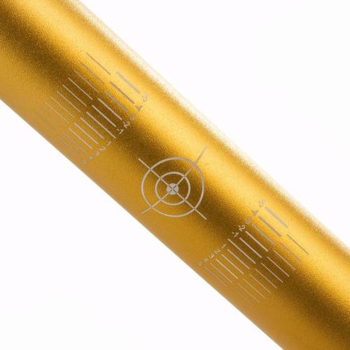 guidão oxxy baixo dourado c/ adaptador lançamento 2019