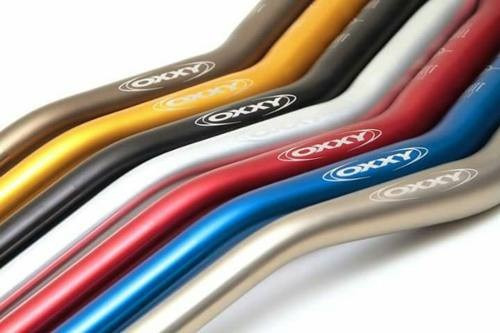 guidão oxxy fat baixo + adaptadores motos universa