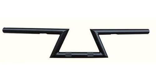 guidão z-bar classic 7/8 - preto fosco ou brilho