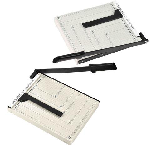 guilhotina cortador de papel a4 30cm até 10 folhas com trava