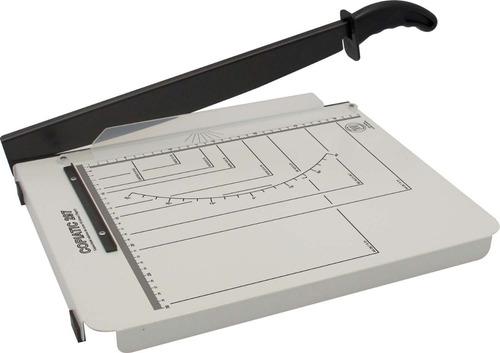 guilhotina de papel a4 copiatic 297 branca menno facão 33cm