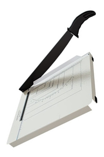 guilhotina de papel copiatic 420 branco menno