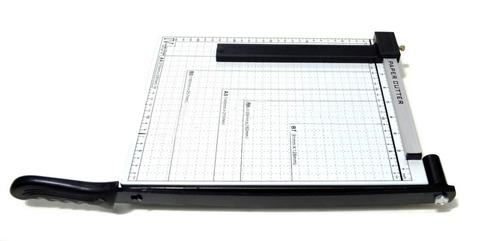 guilhotina papel encadernaçao cortar a4 10 folhas papelaria