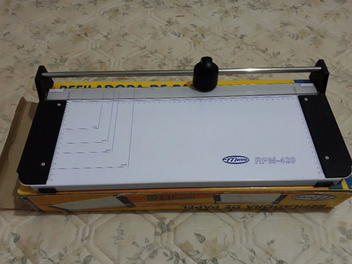 guilhotina refiladora de papel  menno rpm 420 a3