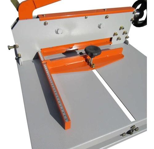guilhotina semi industrial 34cm 300fls gex-340 s/mesa marpax