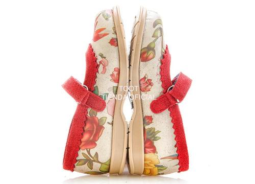 guillermina ballerina abrojo flores toot nº 27 al 30 tatin