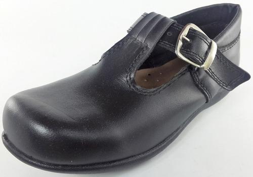 guillermina colegial zapato hebilla tira al centro art: 3810