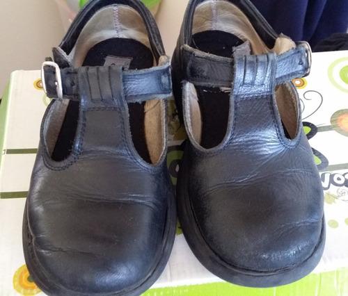 guillermina zapato colegio cuero goshik n 30