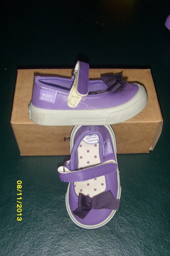 guillerminas mimo shoes nº 21 violetas