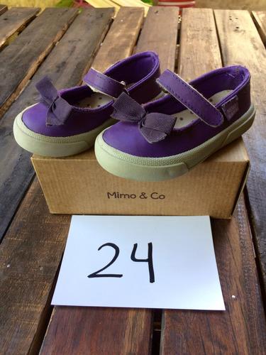guillerminas mimo. violeta. talle 24. impecables! gaialove