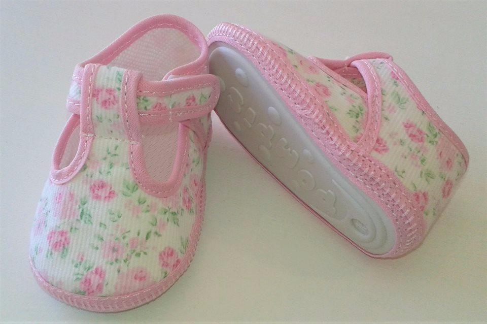 guillerminas zapatillas no caminante bebé estampado flores. Cargando zoom. 799bbc7a72c