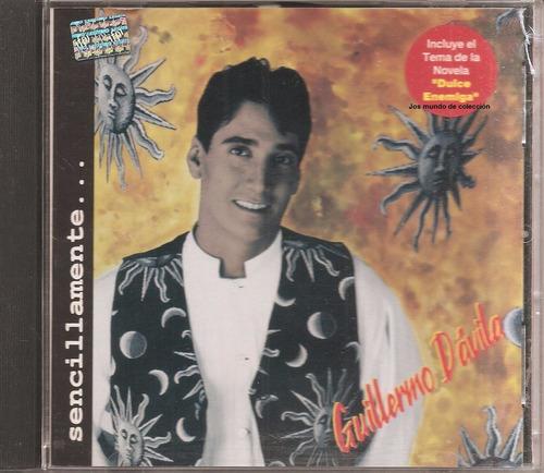 guillermo davila - cd original - un tesoro músical