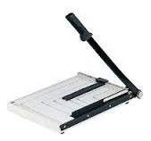 guillotina a 3 cortador de papel, metalica, hogar oficina,