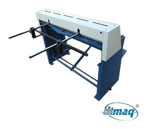 guillotina a pedal de 650 mm, corte hasta 1,25 mm de metal