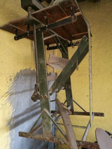 guillotina antigua colección antiguedades conocedores
