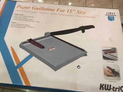 guillotina base plástica a3 nuevas oferta
