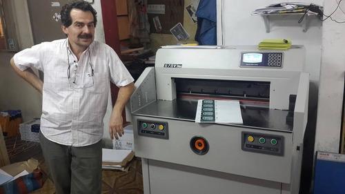 guillotina boway 670v automatica con programa