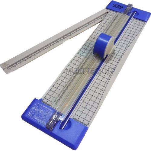 guillotina cizalla 32cm a4 corta papel + troqueladora regalo