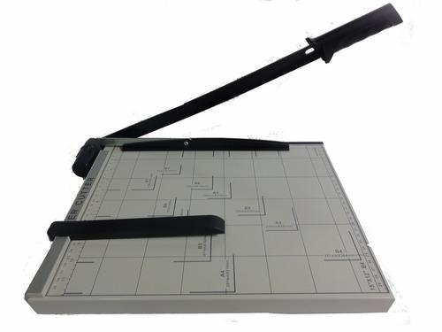 guillotina cizalla a palanca a-4  corta 30 cm.autoafilante