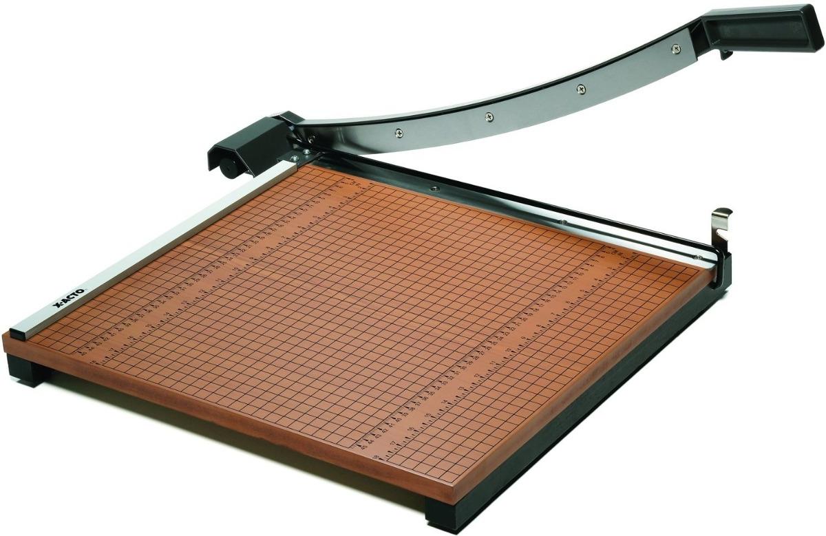 guillotina cortador de papel comercial x acto 18 pulgadas